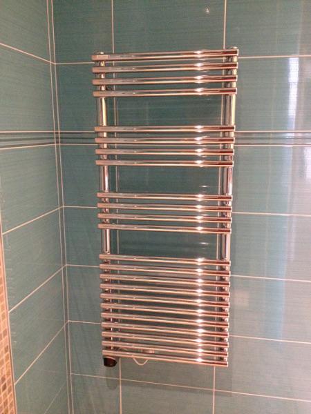 Radiateur sèche- serviette chromé mixte